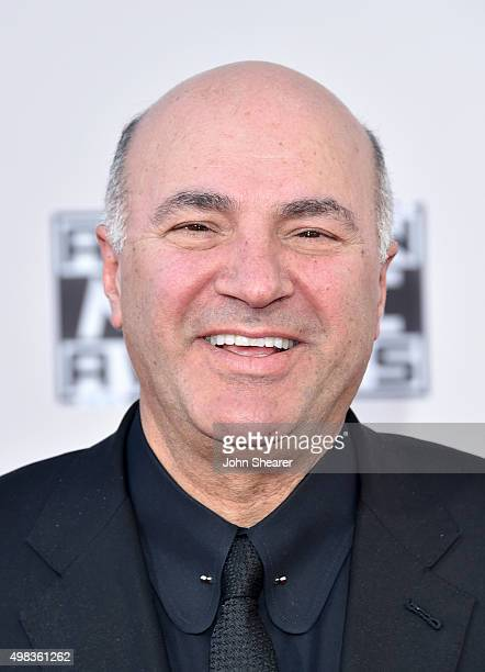 TV personality Kevin O'Leary attends the 2015 American Music Awards at Microsoft Theater on November 22 2015 in Los Angeles California