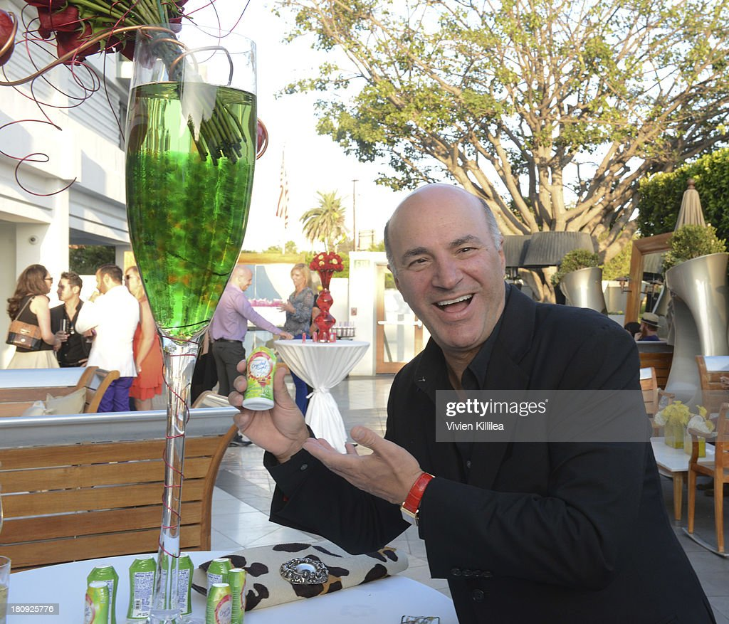 TV personality Kevin O'Leary attends the Entertainment Tonight And Crystal Light Pre-Emmy Party at SLS Hotel on September 17, 2013 in Beverly Hills, California.