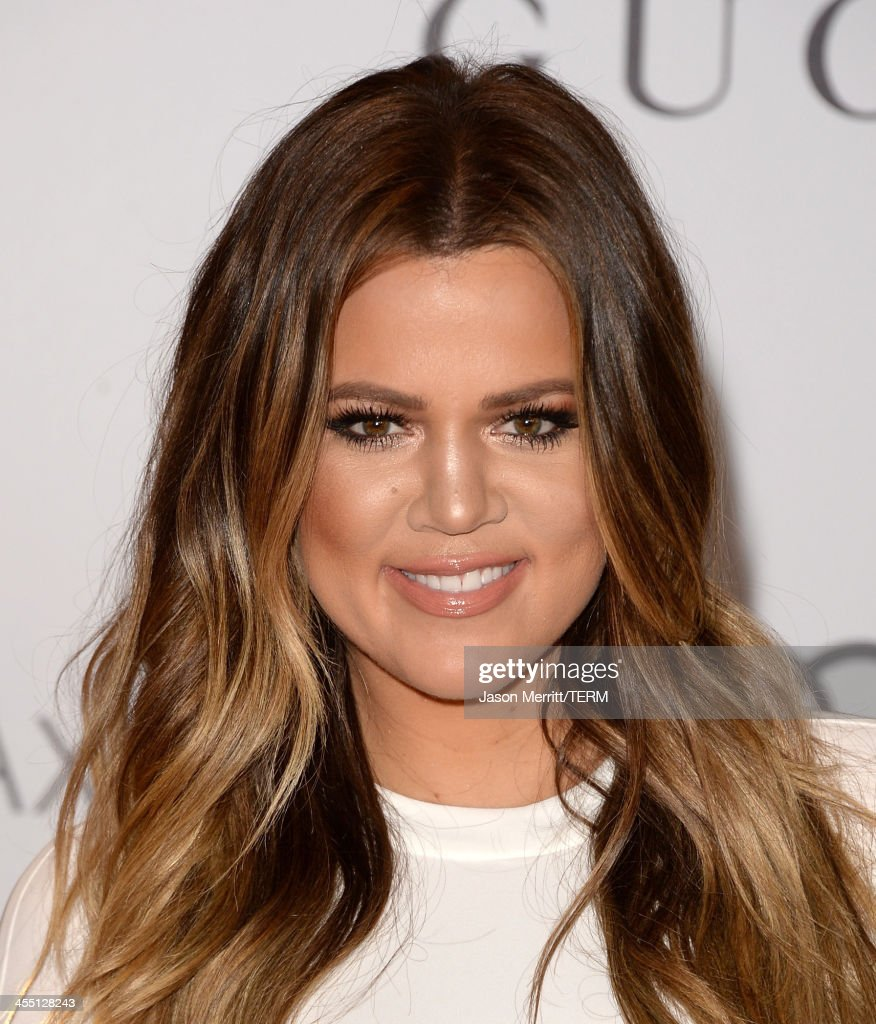 TV personality <a gi-track='captionPersonalityLinkClicked' href=/galleries/search?phrase=Khloe+Kardashian&family=editorial&specificpeople=3955023 ng-click='$event.stopPropagation()'>Khloe Kardashian</a> arrives at The Hollywood Reporter's 22nd Annual Women In Entertainment Breakfast at Beverly Hills Hotel on December 11, 2013 in Beverly Hills, California.