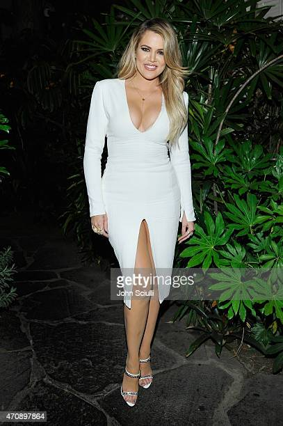 TV personality Khloe Kardashian attends Opening Ceremony and Calvin Klein Jeans' celebration launch of the #mycalvins Denim Series with special guest...