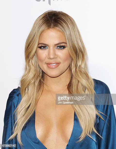 Personality Khloe Kardashian attends the 2015 NBCUniversal Cable Entertainment Upfront at The Jacob K Javits Convention Center on May 14 2015 in New...