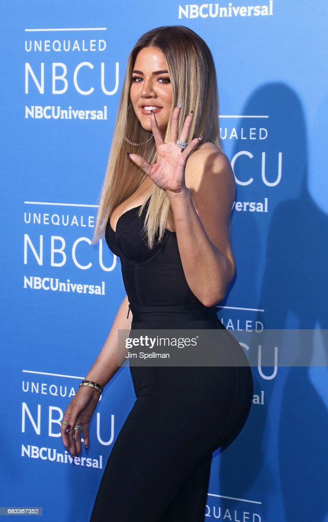 TV personality Khloe Kardashian attends the 2017 NBCUniversal Upfront at Radio City Music Hall on May 15, 2017 in New York City.