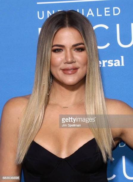 TV personality Khloe Kardashian attends the 2017 NBCUniversal Upfront at Radio City Music Hall on May 15 2017 in New York City