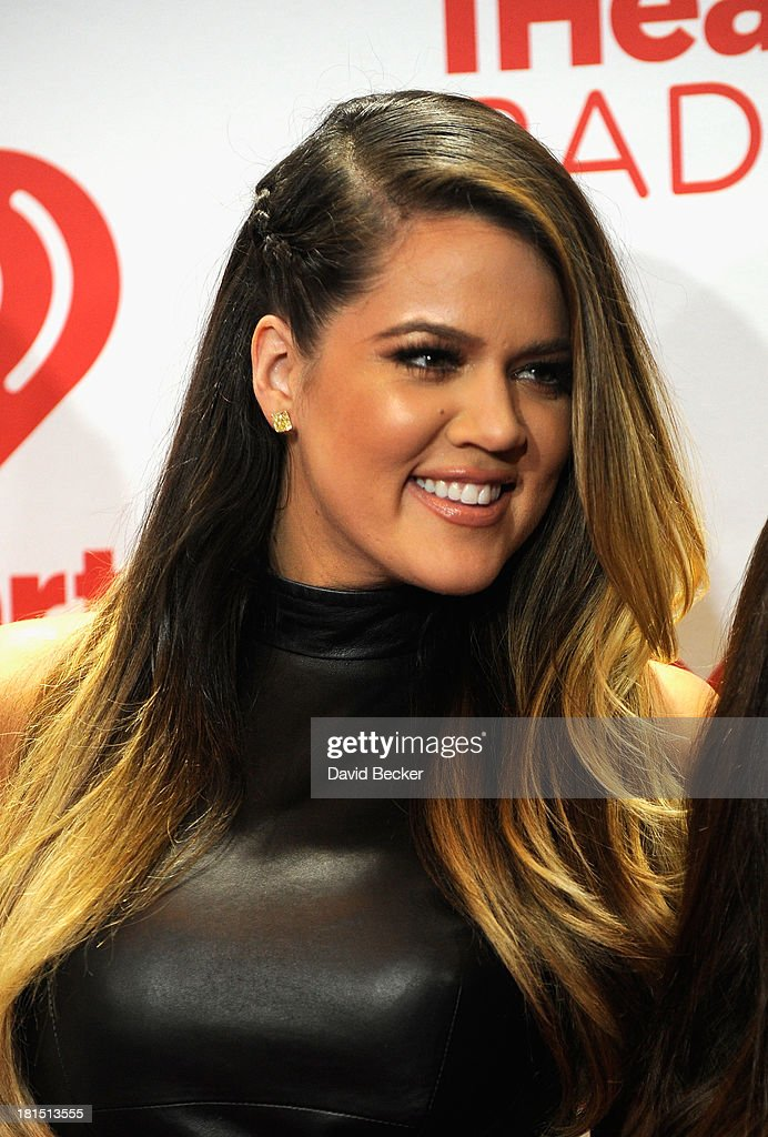 TV personality Khloe Kardashian attends the iHeartRadio Music Festival at the MGM Grand Garden Arena on September 21, 2013 in Las Vegas, Nevada.