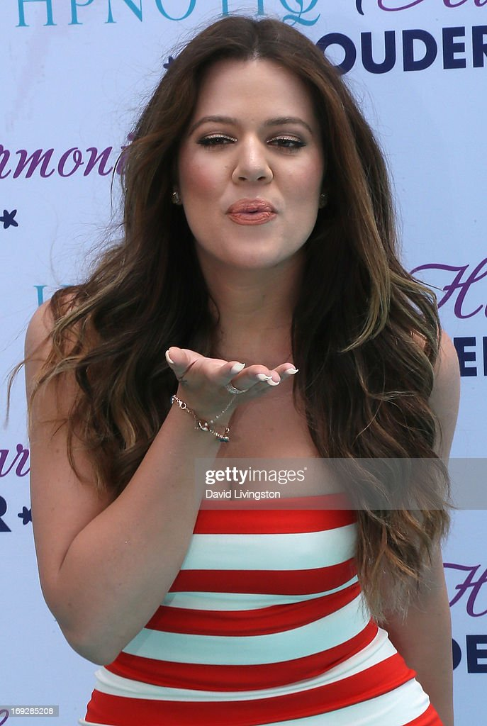 TV personality <a gi-track='captionPersonalityLinkClicked' href=/galleries/search?phrase=Khloe+Kardashian&family=editorial&specificpeople=3955023 ng-click='$event.stopPropagation()'>Khloe Kardashian</a> Odom attends the HPNOTIQ Glam Louder Program Launch at Mr. C Beverly Hills on May 22, 2013 in Beverly Hills, California.