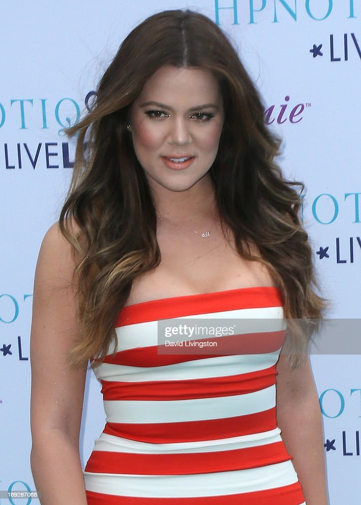 TV personality <a gi-track='captionPersonalityLinkClicked' href=/galleries/search?phrase=Khloe+Kardashian&family=editorial&specificpeople=3955023 ng-click='$event.stopPropagation()'>Khloe Kardashian</a> Odom attends the <a gi-track='captionPersonalityLinkClicked' href=/galleries/search?phrase=Khloe+Kardashian&family=editorial&specificpeople=3955023 ng-click='$event.stopPropagation()'>Khloe Kardashian</a> Odom's HPNOTIQ Glam Louder Program Launch at Mr. C Beverly Hills on May 22, 2013 in Beverly Hills, California.