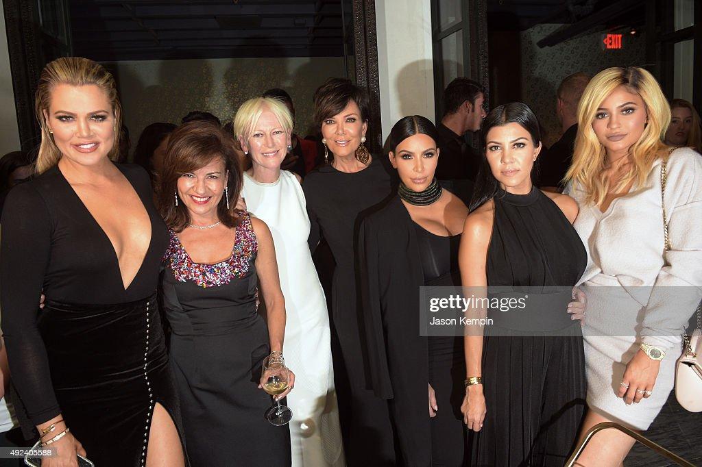 TV personality Khloe Kardashian Senior Vice President Publishing Director Chief Revenue Officer of The Cosmopolitan Group Donna Kalajian Lagani...