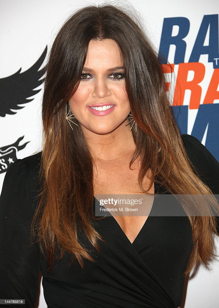TV Personality Khole Kardashian attends the 19th Annual Race To Erase MS - 'Glam Rock To Erase MS' event at the Hyatt Regency Century Plaza on May 18, 2012 in Century City, California.