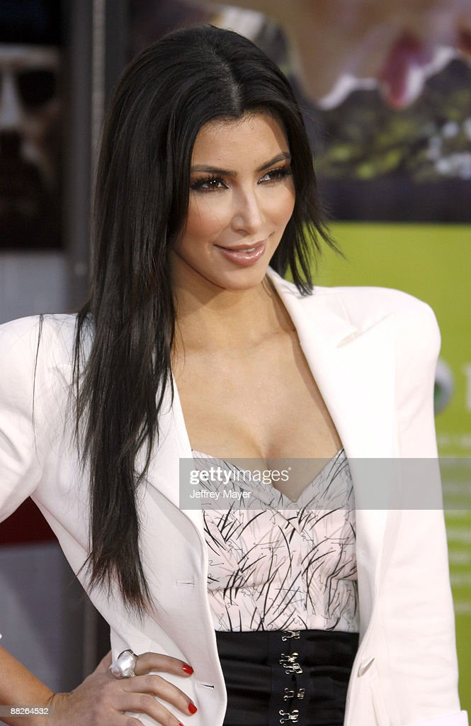 Personality Kim Kardashian arrives at the Los Angeles premiere of 'The Taking of Pelham 123' at the Mann Village Theatre on June 4 2009 in Westwood...
