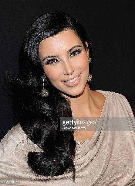 TV personality Kim Kardashian attends A Night of Style Glamour to welcome newlyweds Kim Kardashian and Kris Humphries at Capitale on August 31 2011...
