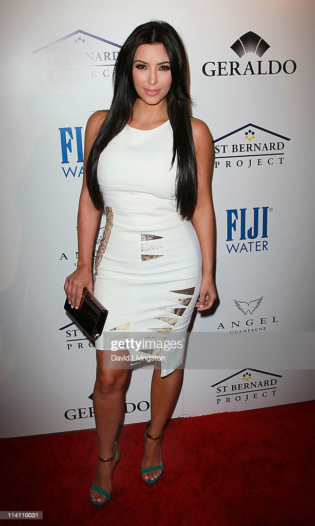 TV personality <a gi-track='captionPersonalityLinkClicked' href=/galleries/search?phrase=Kim+Kardashian&family=editorial&specificpeople=753387 ng-click='$event.stopPropagation()'>Kim Kardashian</a> attends An Evening of 'Southern Style' presented by the St. Bernard Project & the Spears family at a private residence on May 11, 2011 in Beverly Hills, California.