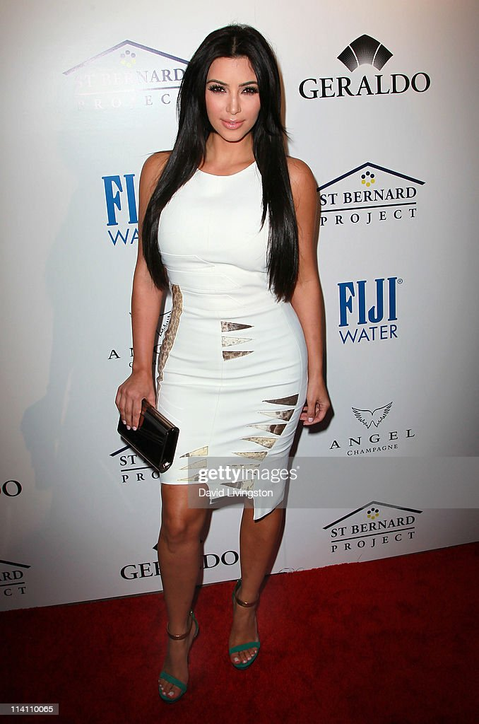 TV personality Kim Kardashian attends An Evening of 'Southern Style' presented by the St. Bernard Project & the Spears family at a private residence on May 11, 2011 in Beverly Hills, California.