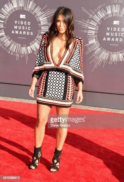 TV personality Kim Kardashian attends the 2014 MTV Video Music Awards at The Forum on August 24 2014 in Inglewood California