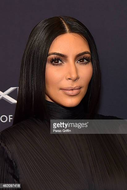 TV personality Kim Kardashian attends The BET Honors 2015 at Warner Theatre on January 24 2015 in Washington DC
