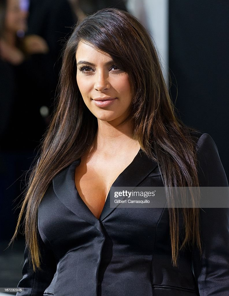 TV personality Kim Kardashian attends the E! 2013 Upfront at The Grand Ballroom at Manhattan Center on April 22, 2013 in New York City.