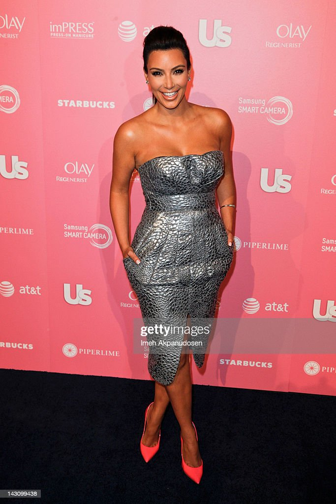 TV personality Kim Kardashian attends the Us Weekly Hot Hollywood Style Event at Greystone Manor Supperclub on April 18, 2012 in West Hollywood, California.
