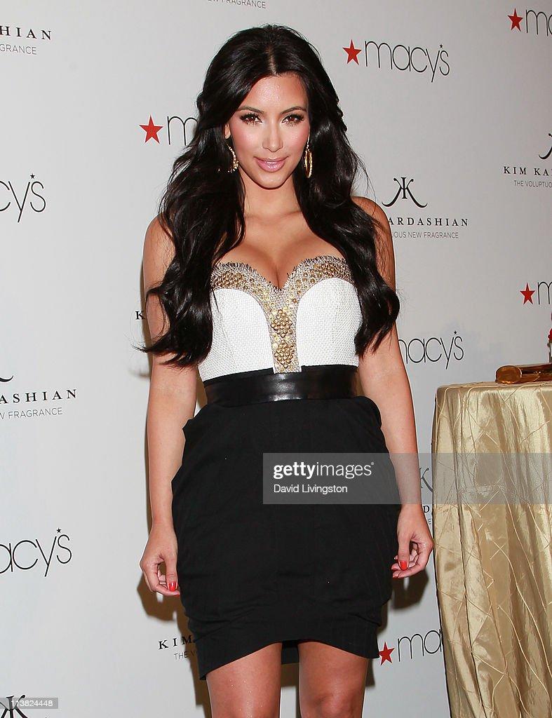 Ki Kim Kardashian Dresses For Cheap - Tv personality kim kardashian celebrates her new fragrance gold at macy s fashion show store