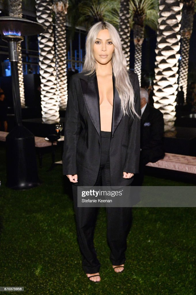 TV personality Kim Kardashian West attends the 2017 LACMA Art + Film Gala Honoring Mark Bradford and George Lucas presented by Gucci at LACMA on November 4, 2017 in Los Angeles, California.