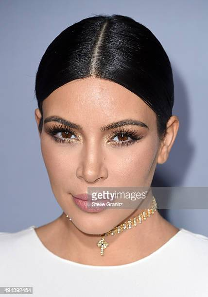 TV personality Kim Kardashian West attends the InStyle Awards at Getty Center on October 26 2015 in Los Angeles California