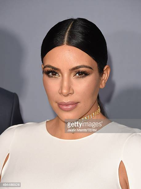Personality Kim Kardashian West attends the InStyle Awards at Getty Center on October 26 2015 in Los Angeles California