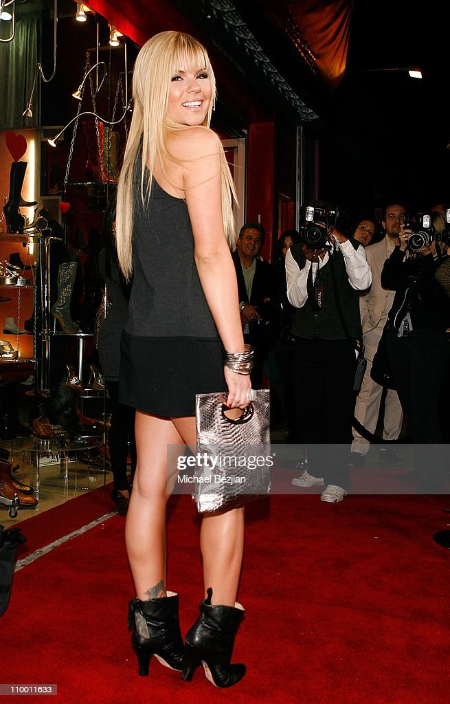 TV personality Kimberly Caldwell attends the Launch Party for Shoes for Stars on April 8 2008 in Los Angeles CA