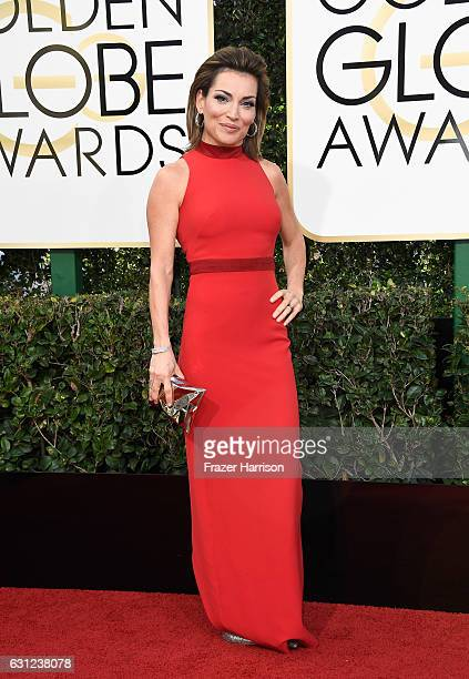 TV personality Kit Hoover attends the 74th Annual Golden Globe Awards at The Beverly Hilton Hotel on January 8 2017 in Beverly Hills California