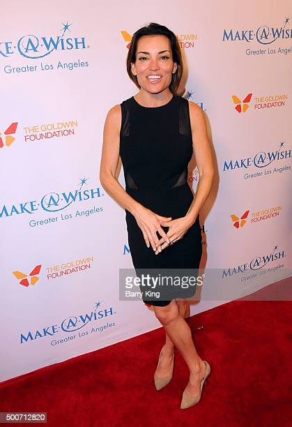 TV personality Kit Hoover attends the MakeAWish Greater Los Angeles Annual Wishing Well Winter Gala at the Beverly Wilshire Four Seasons Hotel on...