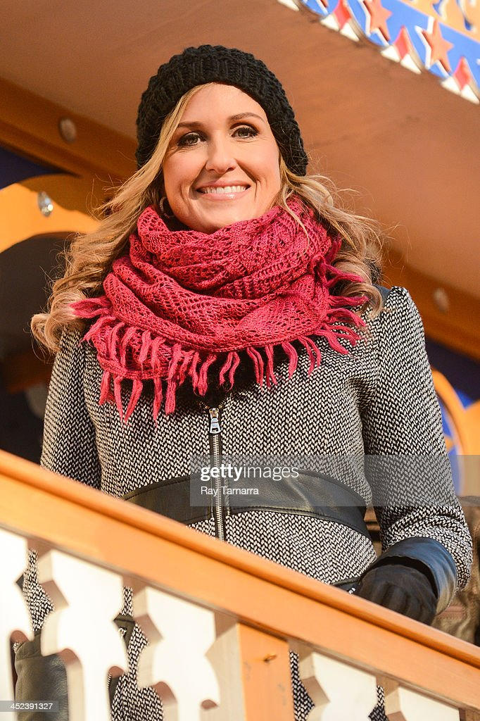 TV personality Korie Robertson attends the 87th Annual Macy's Thanksgiving Day Parade on November 28, 2013 in New York City.