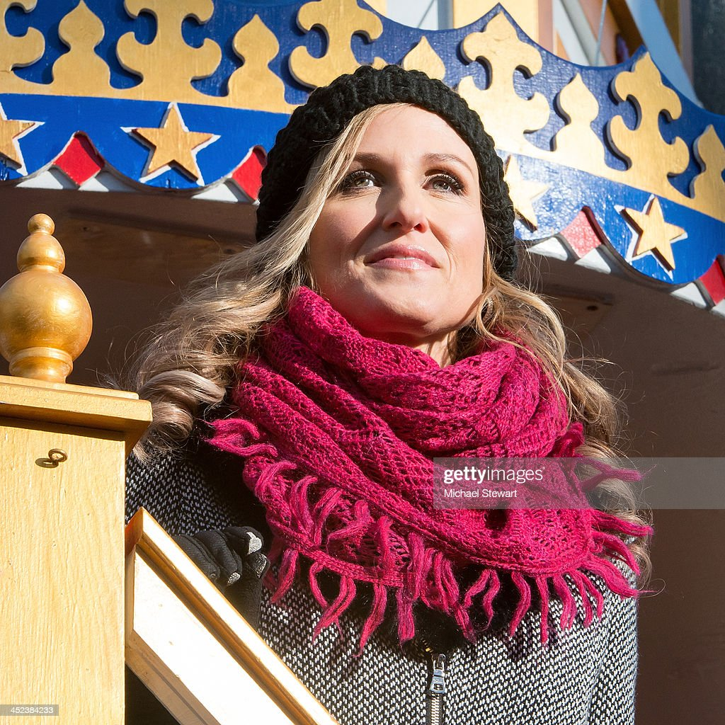TV personality Korie Robertson of Duck Dynasty attends the 87th annual Macy's Thanksgiving Day parade on November 28, 2013 in New York City.
