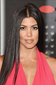 TV personality Kourtney Kardashian attends the 2015 MTV Video Music Awards at Microsoft Theater on August 30 2015 in Los Angeles California