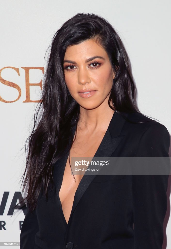 TV personality Kourtney Kardashian attends the premiere of Open Road Films' 'The Promise' at TCL Chinese Theatre on April 12, 2017 in Hollywood, California.