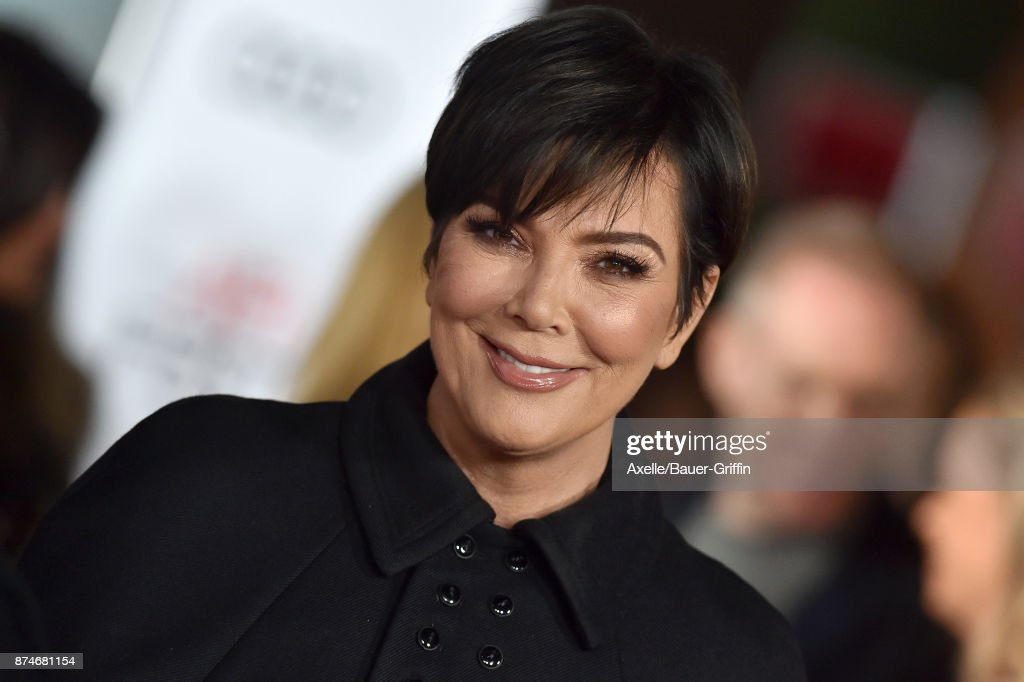 TV personality Kris Jenner arrives at the AFI FEST 2017 presented by Audi - screening of 'The Disaster Artist' at TCL Chinese Theatre on November 12, 2017 in Hollywood, California.
