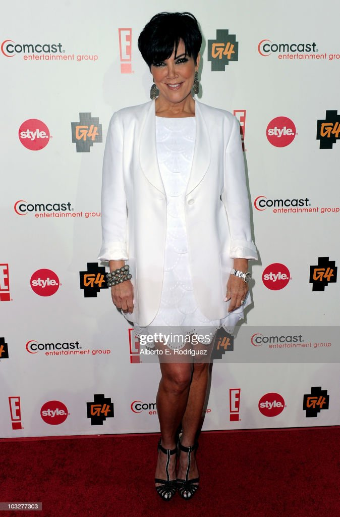 TV personality Kris Jenner arrives to the Comcast Entertainment Group's Summer TCA Cocktail Party on August 6, 2010 in Beverly Hills, California.