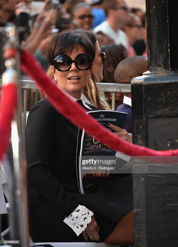 TV personality <a gi-track='captionPersonalityLinkClicked' href=/galleries/search?phrase=Kris+Jenner&family=editorial&specificpeople=762610 ng-click='$event.stopPropagation()'>Kris Jenner</a> attends a ceremony honoring Kenny 'Babyface' Edmonds with the 2508th Star on the Hollywood Walk of Fame on October 10, 2013 in Hollywood, California.