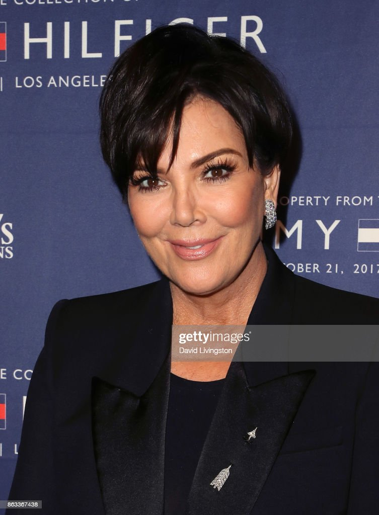 TV personality Kris Jenner attends Julien's Auctions and Tommy Hilfiger VIP reception on October 19, 2017 in Los Angeles, California.