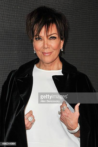 TV personality Kris Jenner attends Sean 'Diddy' Combs' Exclusive Birthday Celebration on November 21 2015 in Beverly Hills California