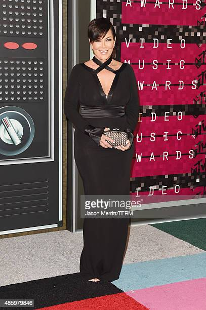 TV personality Kris Jenner attends the 2015 MTV Video Music Awards at Microsoft Theater on August 30 2015 in Los Angeles California