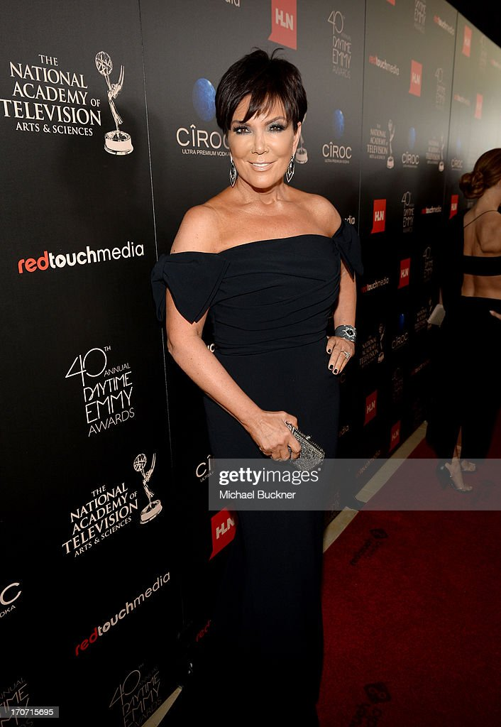 TV personality <a gi-track='captionPersonalityLinkClicked' href=/galleries/search?phrase=Kris+Jenner&family=editorial&specificpeople=762610 ng-click='$event.stopPropagation()'>Kris Jenner</a> attends the 40th Annual Daytime Emmy Awards at the Beverly Hilton Hotel on June 16, 2013 in Beverly Hills, California. 23774_001_0981.JPG