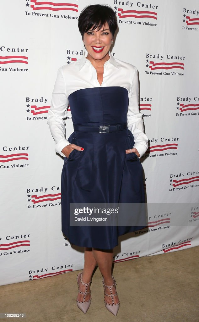 TV personality Kris Jenner attends the Brady Campaign To Prevent Gun Violence 2013 Los Angeles Benefit Event at the Beverly Hills Hotel on May 7, 2013 in Beverly Hills, California.
