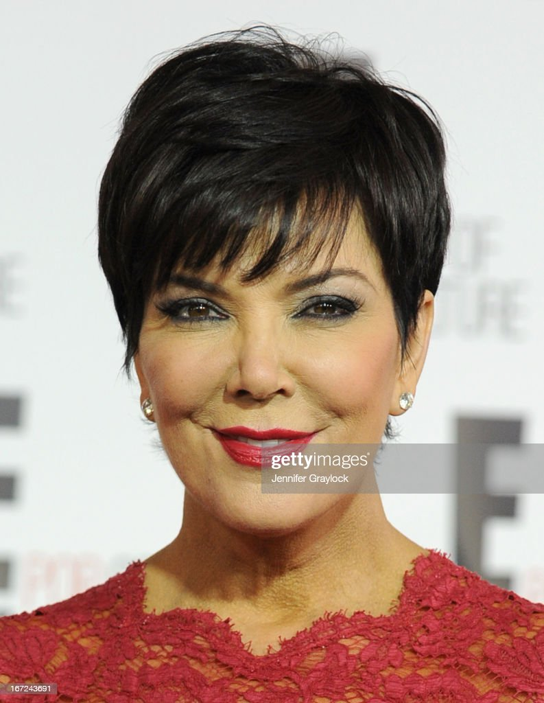 TV personality Kris Jenner attends the E! 2013 Upfront at The Grand Ballroom at Manhattan Center on April 22, 2013 in New York City.