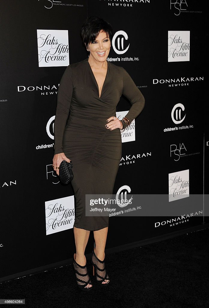 TV personality Kris Jenner attends the fifth annual PSLA Autumn Party benefiting Children's Institute Inc sponsored by Saks Fifth Avenue with fashion...