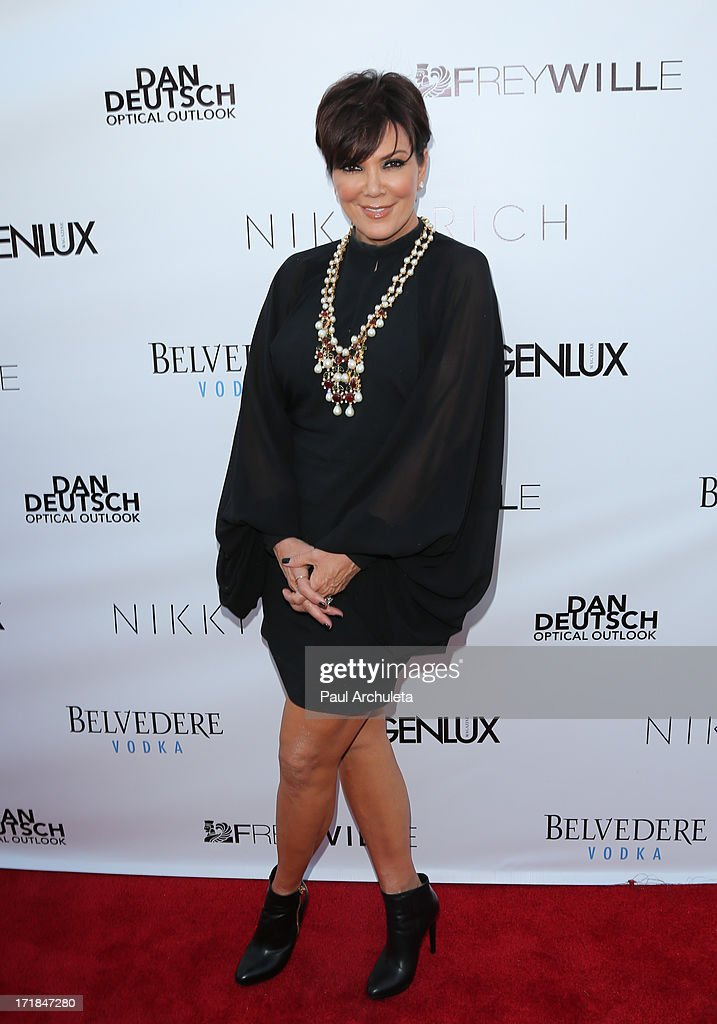TV Personality Kris Jenner attends the Genlux Magazine summer issue release party at the Luxe Rodeo Drive Hotel on June 28, 2013 in Beverly Hills, California.