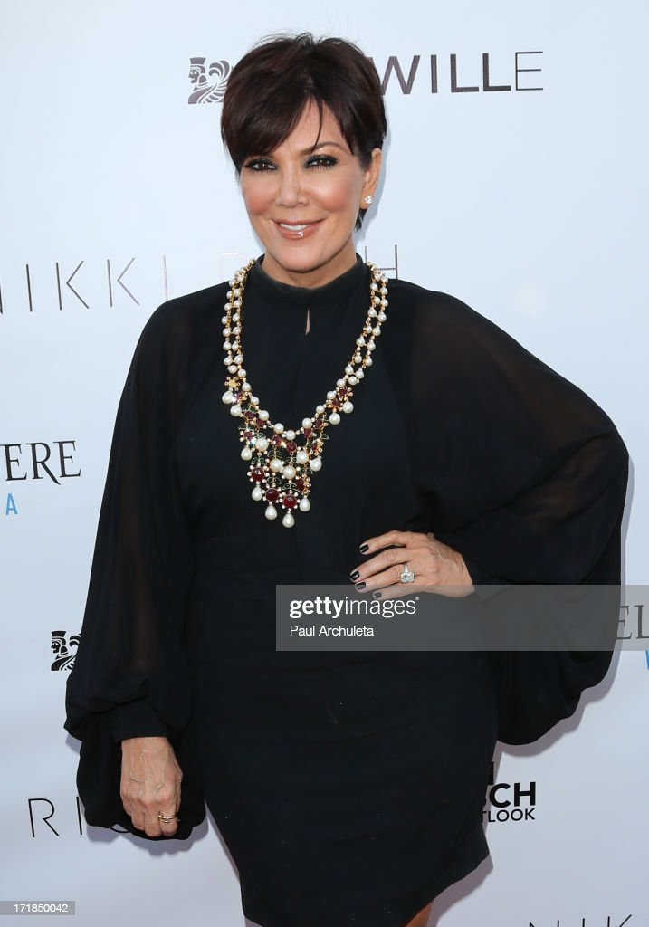 TV Personality <a gi-track='captionPersonalityLinkClicked' href=/galleries/search?phrase=Kris+Jenner&family=editorial&specificpeople=762610 ng-click='$event.stopPropagation()'>Kris Jenner</a> attends the Genlux Magazine summer issue release party at the Luxe Rodeo Drive Hotel on June 28, 2013 in Beverly Hills, California.