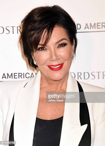 TV personality Kris Jenner attends the Good American Launch Event at Nordstrom at the Grove on October 18 2016 in Los Angeles California