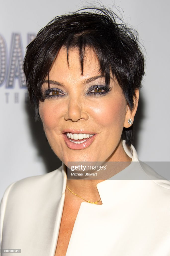 TV personality Kris Jenner attends the 'Scandalous' Broadway Opening Night' at Neil Simon Theatre on November 15, 2012 in New York City.