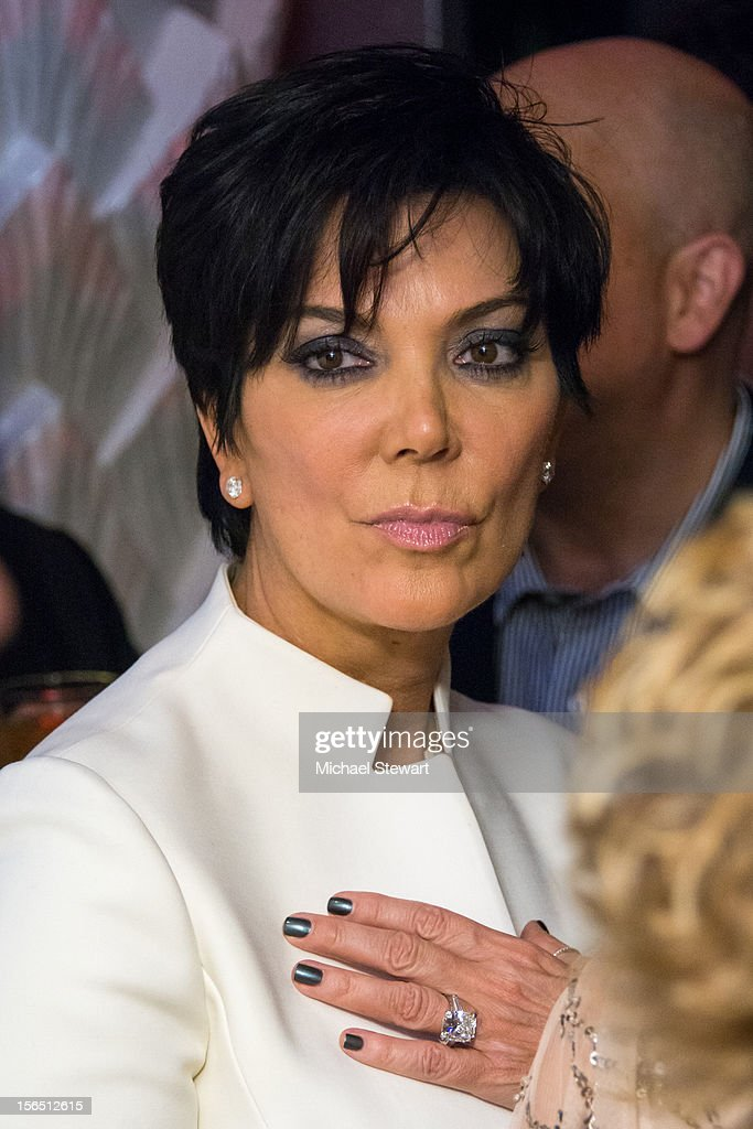 TV personality <a gi-track='captionPersonalityLinkClicked' href=/galleries/search?phrase=Kris+Jenner&family=editorial&specificpeople=762610 ng-click='$event.stopPropagation()'>Kris Jenner</a> attends the 'Scandalous' Broadway Opening Night after party at Copacabana on November 15, 2012 in New York City.
