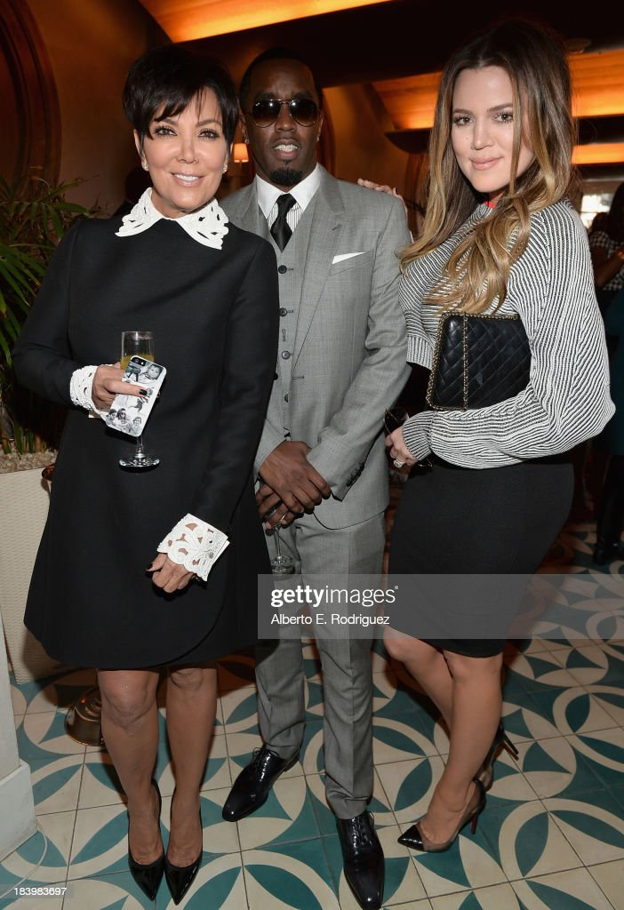 TV personality <a gi-track='captionPersonalityLinkClicked' href=/galleries/search?phrase=Kris+Jenner&family=editorial&specificpeople=762610 ng-click='$event.stopPropagation()'>Kris Jenner</a>, businessman/singer <a gi-track='captionPersonalityLinkClicked' href=/galleries/search?phrase=Sean+Combs&family=editorial&specificpeople=178993 ng-click='$event.stopPropagation()'>Sean Combs</a> and TV personality <a gi-track='captionPersonalityLinkClicked' href=/galleries/search?phrase=Khloe+Kardashian&family=editorial&specificpeople=3955023 ng-click='$event.stopPropagation()'>Khloe Kardashian</a> attend a ceremony honoring Kenny 'Babyface' Edmonds with the 2508th Star on the Hollywood Walk of Fame on October 10, 2013 in Hollywood, California.