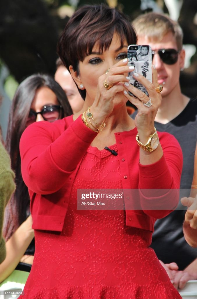 TV personality Kris Jenner is seen on August 20, 2013 in Los Angeles, California.