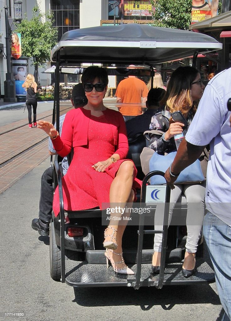 TV personality <a gi-track='captionPersonalityLinkClicked' href=/galleries/search?phrase=Kris+Jenner&family=editorial&specificpeople=762610 ng-click='$event.stopPropagation()'>Kris Jenner</a> is seen on August 20, 2013 in Los Angeles, California.