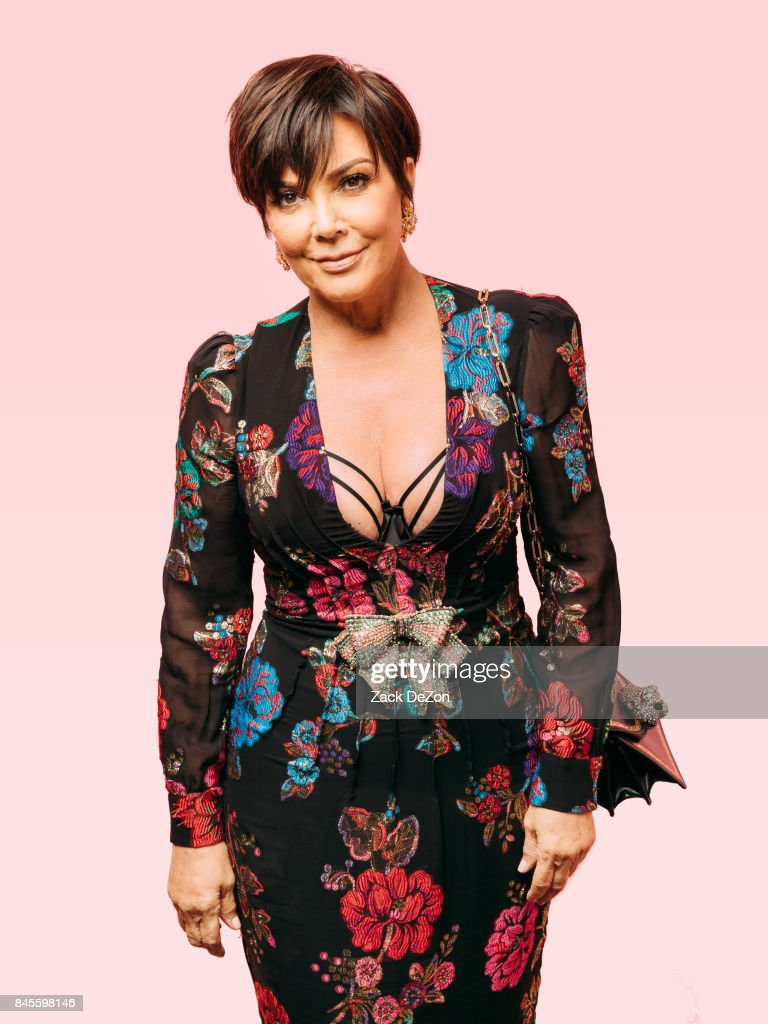 TV personality Kris Jenner poses for a portrait during the Daily Front Row's Fashion Media Awards at Four Seasons Hotel New York Downtown on September 8, 2017 in New York City.